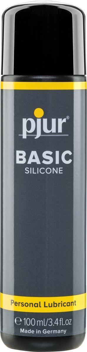 Лубрикант на силиконовой основе pjur Basic Personal Glide 100 мл вагинальный (Пьюр, Пджюр). Силиконовые смазки