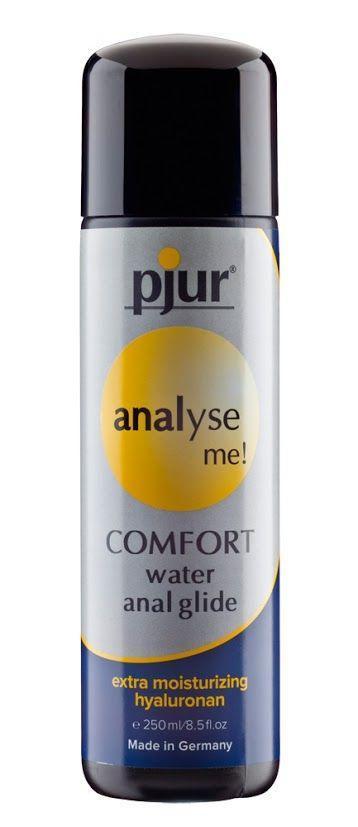 Анальная смазка на водной основе pjur analyse me! Comfort water glide 250 мл (Пьюр, Пджюр). Анальные смазки