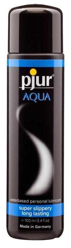 Лубрикант на водной основе pjur Aqua 100 мл (Пьюр, Пджюр) вагинальный. Смазки на водной основе