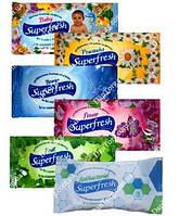 Влажные салфетки SuperFresh, 15 шт.