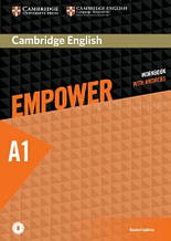 Cambridge English Empower A1 Starter Workbook with Answers and Downloadable Audio / Тетрадь