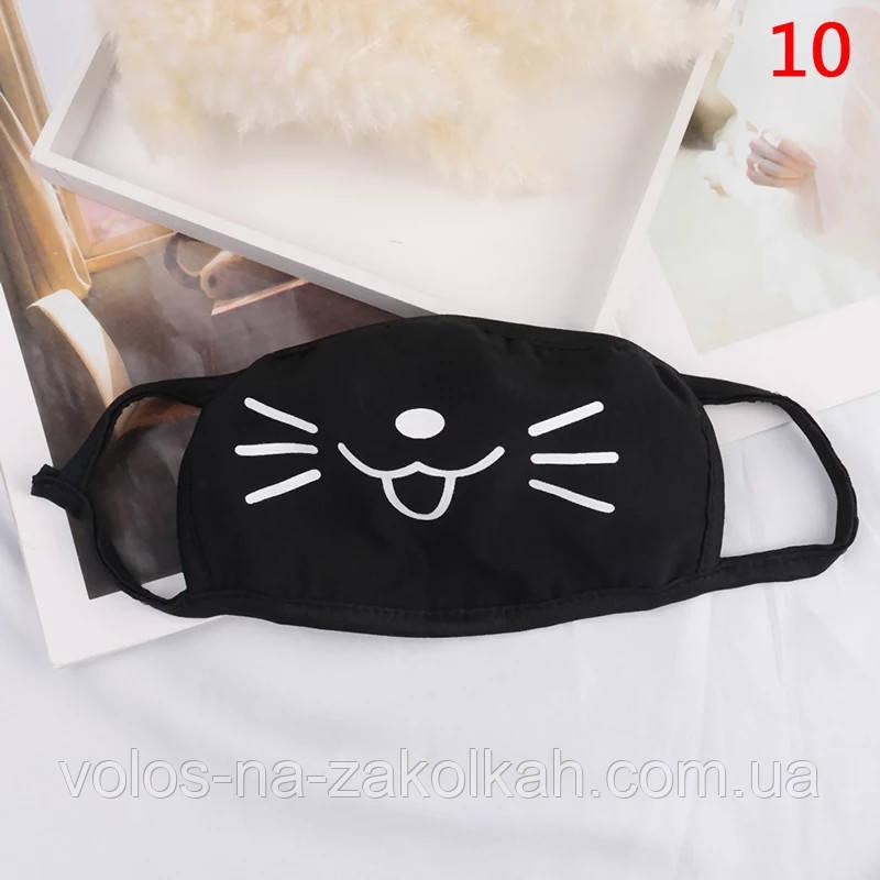Маска на лицо котик против пыли пылезащитная повязка K- pop BTS аниме косплей япония  карнавальная маска
