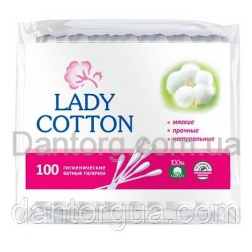 Палочки ватные Lady Cotton 100 шт