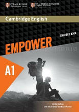 Cambridge English Empower A1 Starter Teacher's Book / Книга для учителя