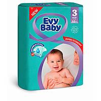 Дитячі підгузки Evy Baby Midi Jumbo 3 (5-9 кг) 68 шт.