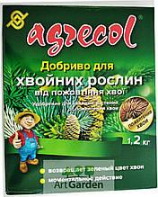 Добрива Agrecol для хвої від пожовтіння 1,2 кг