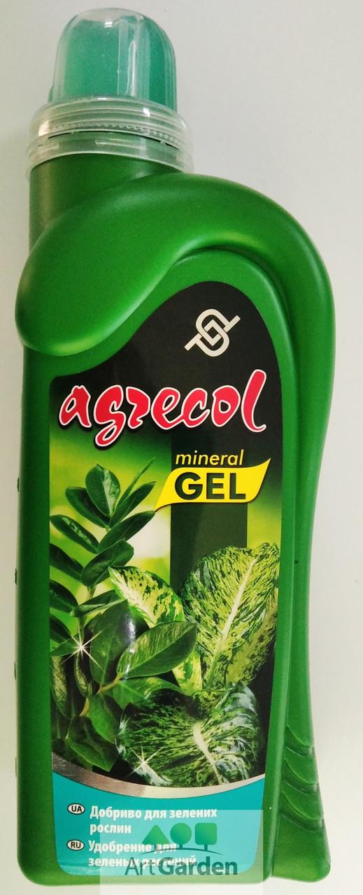 Добриво Agrecol для зелених рослин гель 0,5 л