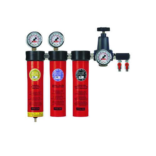 Блок подготовки воздуха профессиональный (3 ступени)  ITALCO