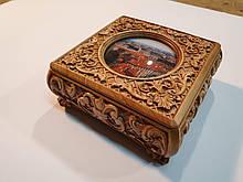 3d design od wooden box in format STL