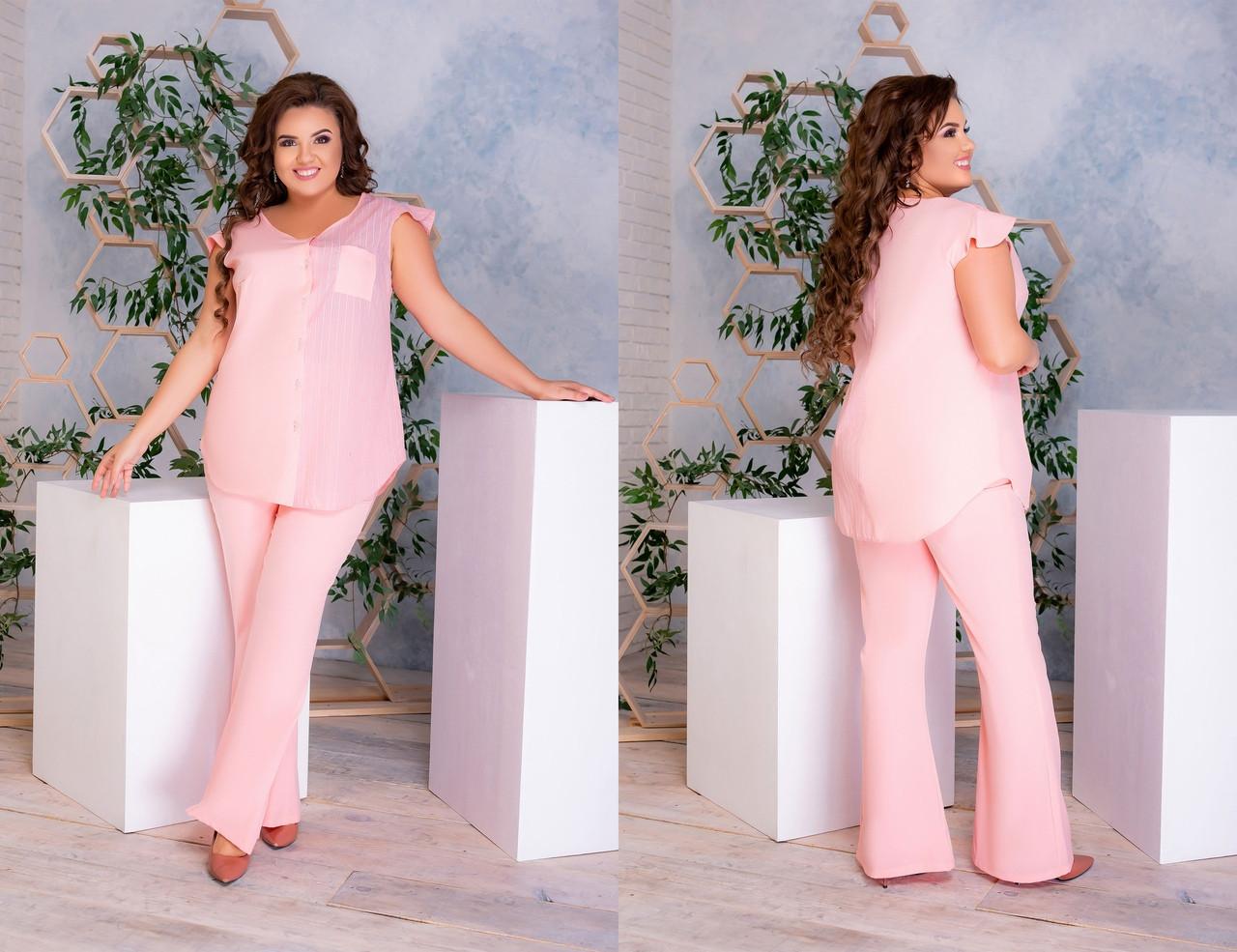 Стильный костюм   (размеры 48-58) 0236-99