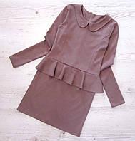 Р.146  Детское платье с баской № 109, фото 1