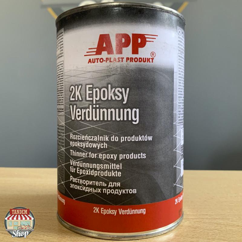 Растворитель для эпоксидных продуктов APP 2K Epoksy Verdunnung, 1 л