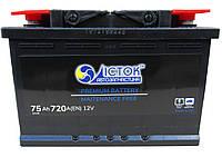6СТ-75 (R+) ІСТОК Аккумулятор залитый 720А (275х190х175, L3, 575 80)