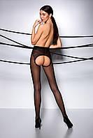 Эротические колготки с отверстиями в сладких местах TIOPEN 006 roso 1/2 (30 den) - Passion Страсть. Колготки