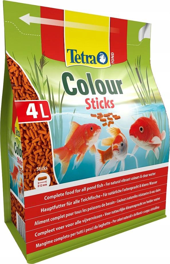 Корм для ставкових риб Tetra Pond Colour Sticks 4 л / 750 гр 170148