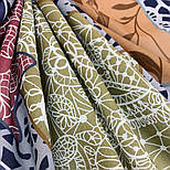 10607-1, павлопосадский платок хлопковый (батистовый) с швом зиг-заг, фото 5