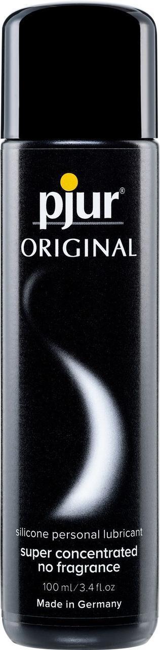 Лубрикант на силиконовой основе pjur Original 100 мл для продолжительного секса (Пьюр, Пджюр) универсальная. Силиконовые смазки