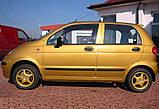 Молдинги на двері для Daewoo Matiz 1998>, фото 4