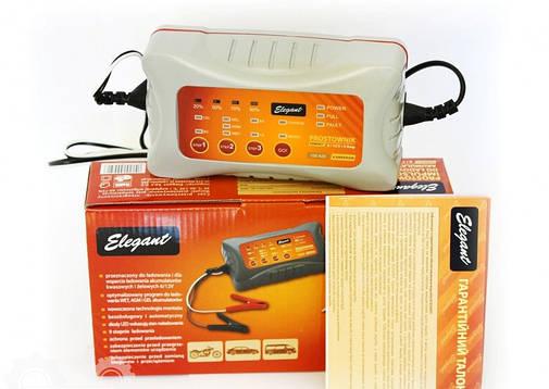 Импульсное зарядное устройство Elegant Compact 100 420 6/12 В, 4 А , фото 2
