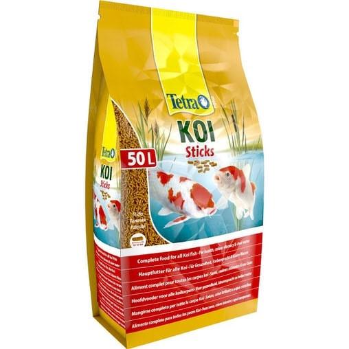 Корм для прудовых рыб Tetra Pond KOI Sticks 50 л / 7,5 кг 758636