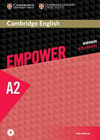 Cambridge English Empower A2 Elementary Workbook with Answers and Downloadable Audio / Тетрадь