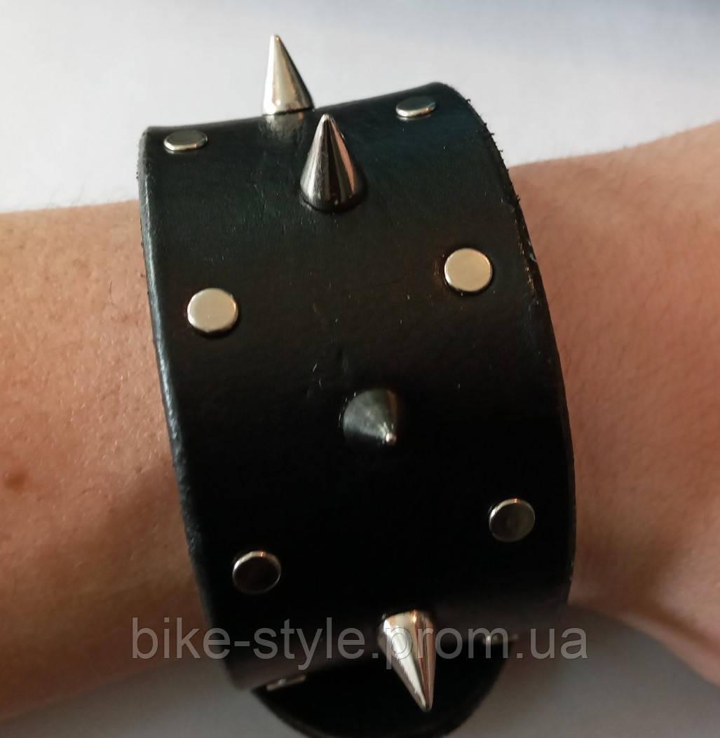 Кожаный браслет Rocker 2