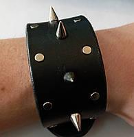 Кожаный браслет Rocker 2, фото 1
