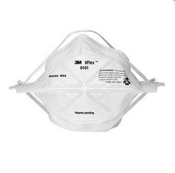 Медицинские маски пропаяные 3M 9101 (50 МАСОК)
