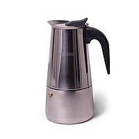 Кофеварка гейзерная 450 мл на 9 чашек Kamille KM-0662