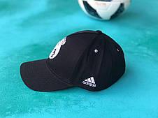 Бейсболка с логотипом Реал Мадрид кепка с козырьком Черная, фото 3