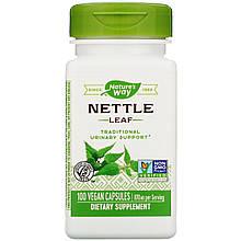 "Листья крапивы Nature's Way ""Nettle Leaf"" 870 мг (100 капсул)"
