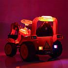 Детский электромобиль трактор Bambi M 4142L-7 оранжевый, фото 6