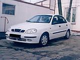 Молдинги на двері для Daewoo Lanos 5dr. хетчбек / 4dr. сєдан 1997>, фото 2