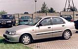Молдинги на двері для Daewoo Lanos 5dr. хетчбек / 4dr. сєдан 1997>, фото 3