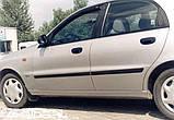 Молдинги на двері для Daewoo Lanos 5dr. хетчбек / 4dr. сєдан 1997>, фото 4