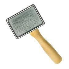 Пуходерка-сликер ARTERO дерев'яна рукоять і металева основа