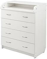 Пеленальный комод Babyroom 102x80x50 белый