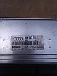 Блок управління двигуном Audi A-4 1.8 Bosch 8D0 907 558 T , 0 261 204 957, фото 2