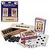 Игра настольная в наборе Домино+Карты 14175