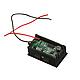 Индикатор напряжения заряда аккумулятора на приборную панель авто 12В + 2xUSB, фото 2