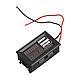 Индикатор напряжения заряда аккумулятора на приборную панель авто 12В + 2xUSB, фото 3
