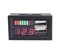 Индикатор напряжения заряда аккумулятора на приборную панель авто 12В + 2xUSB
