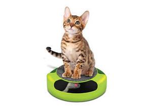 Когтеточка с игрушкой Сatch the mouse Зеленая