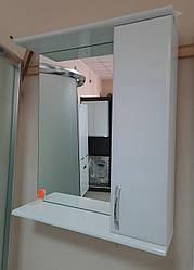 Зеркало в ванную комнату З-04Е Николь 60 см без подсветки (правое)