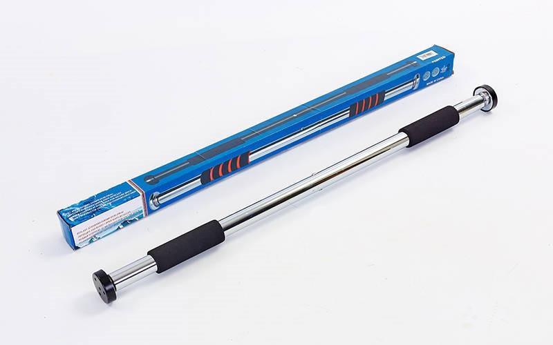 Турник раздвижной 80 -130 см ручки неопрен Plenergy FI-5767