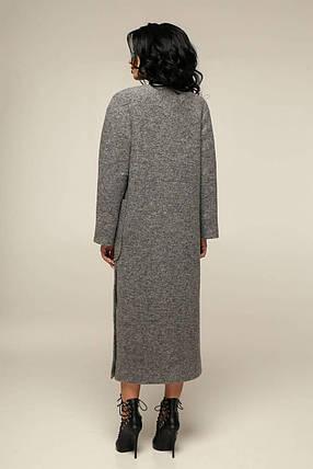 Длинное женское пальто осень весна (р. 44-54) арт. 12-39/10, фото 2