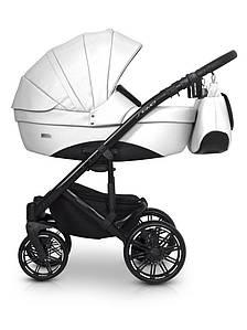 Детская универсальная коляска 3 в 1 Riko Sigma 08 White