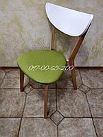 Стул МОДЕРН 616  Бук / Белый с зелёным