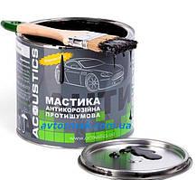Мастика противошумная битумно-каучуковая для авто ACOUSTICS (alumat) 2кг