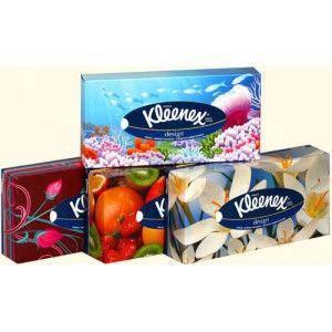Салфетки Kleenex 20*20 2 слоя, 70шт/брикет, фото 2
